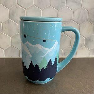 David's Tea Nordic Mug Colour Changing Ski Resort